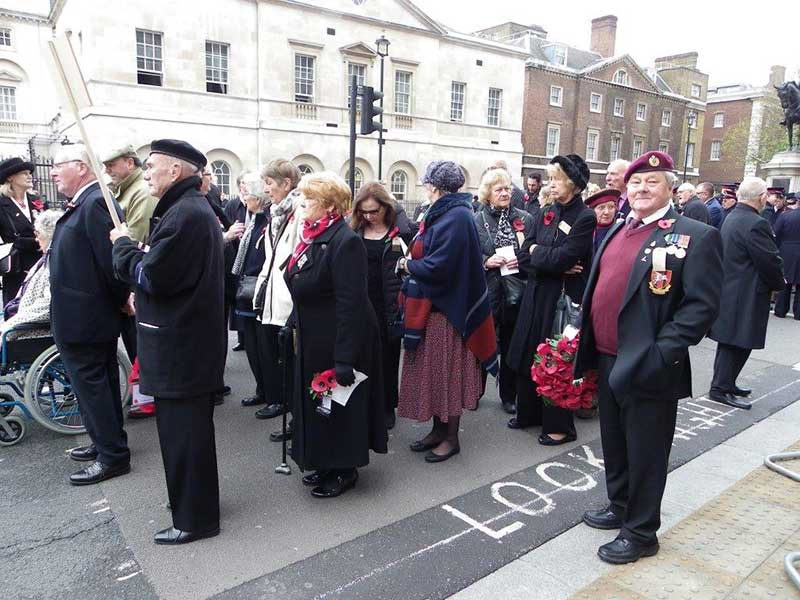 Cenotaph Parade in London September 2015