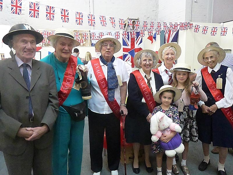 Chatham Dockyard Salute to the 1940s september 2015