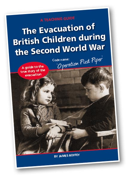 A teaching guide book on the evacuation of British childrin in 1939 during the Second World War